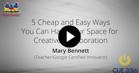 5 Cheap and Easy Ways You Can Hack Your Space for Creative Collaboration with Mary Bennett Videos Apr 2016