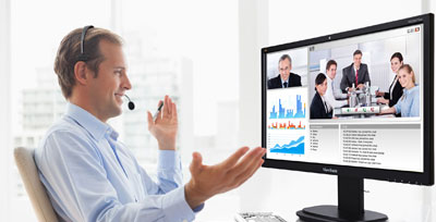 All-in-One Monitor Facilitates Effective Desktop Video Conferencing Solution briefs Mar 2015