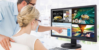 Benefitting from Ultra HD, MultiPicture, and Other Productivity-Enhancing Features Solution briefs Mar 2015
