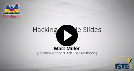 Hacking Google Slides with Matt Miller Videos Jul 2016