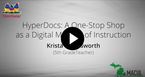 Hyper Doc: A One-Stop Shop as a Digital Method of Instruction with Krista Harmsworth Videos Apr 2016