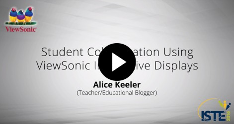 Student Collaboration Using ViewSonic Interactive Displays with Alice Keeler Videos Jul 2016