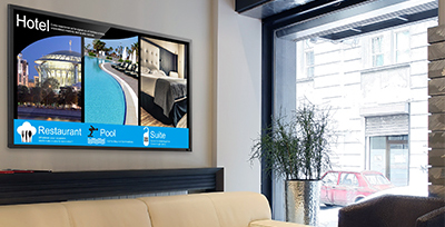 Implementing Hospitality Digital Signage with Ease with DisplayIt!Xpress Solution briefs Apr 2016
